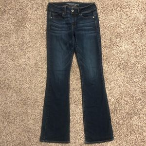 American Eagle boot cut jeans!